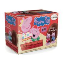 Ovo de Chocolate Ao Leite Peppa Pig c/2 - Topcau -