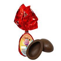 Ovo de Páscoa Chocolate ao Leite 45gr Unidade Borússia Chocolates -