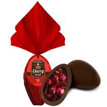 Ovo de Páscoa Chocolate ao Leite Cherry 300gr Unidade Borússia Chocolates -