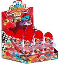 Ovo Surpresa Carrinhos Toy com 18 Un - Fampar -