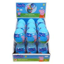 Ovo Surpresa Peppa Pig  Display com 18 unidades - Combo