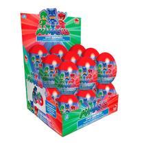 Ovo Surpresa PJMasks 18 unidades com 9g cada - Candy Fun