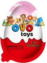 Ovo surpresa rosa skv0044  (6 und) - Royal Toys