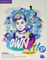 Own it! 1 combo b students book and workbook with pactice extra - Cambridge University -