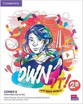 Own it! 2 combo b students book and workbook with pactice extra - Cambridge University