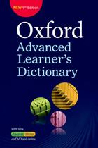 Oxford advanced learners dictionary with  ispeaker / iwhiter on dvd and online - 9th ed - Oxford university