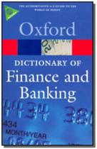 Oxford dictionary of finance and banking -