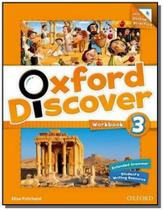Oxford discover 3 workbook with online practice -