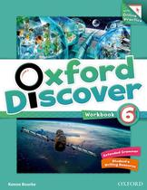 Oxford discover 6 wb with online practice - 1st ed - Oxford university