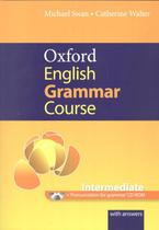 Oxford english grammar course - intermediate with answers cd-rom and key - Oxford university