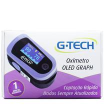 Oxímetro De Dedo Digital Oled Profissional Completo - Gtech