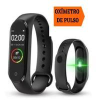 Oximetro De Pulso Medidor Oxigenio Pulseira SmartWatch Tomate MTR-24 -