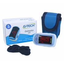 Oxímetro De Pulso Portátil De Dedo Led G - Tech - Premium