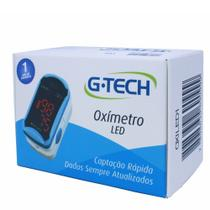 Oximetro De Pulso Portatil De Dedo Pulso Led Completo - G-tech