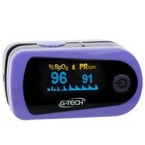 Oximetro de pulso portatil g-tech modelo oled graph -