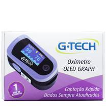 Oxímetro Digital De Pulso Portátil De Dedo G-tech Com Estojo -