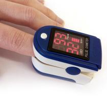 Oxímetro Digital Medidor Portátil Respiração Oxigênio Sangue - Boas