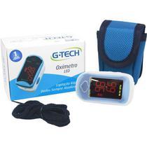 Oximetro Profissional Completo Com Estojo + Cordão + Capa + Pilhas - G-TECH