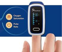 Oximetro pulso (dedo) fingertip oled - Geratherm