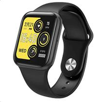 P80s Relógio Smartwatch Compativel iPhone Samsung Lançamento PRETO -