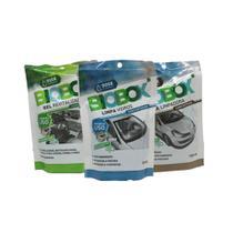 Pack 1 Cera Limpadora - 1 Gel Revitalizador - 1 Limpa Para-Brisa BIOBOX RADIEX - Biobox  Radiex
