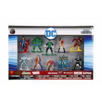 Pack 10 Personagens Dc Comics Nano Metal Figs Jada 98663 Dtc 4285 -