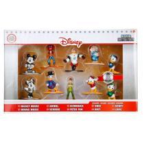 Pack 10 Personagens Disney Nano Metal Figs Jada 99350 DTC 4293 -
