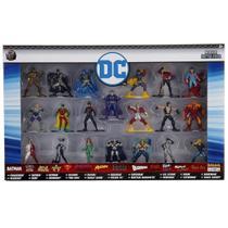 Pack 20 Personagens DC Comics Nano Metal Figs Jada 30120 DTC 4286 -