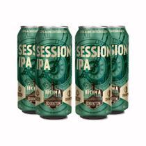 Pack 4 cervejas artesanal Schornstein Session IPA Lata 473ml -