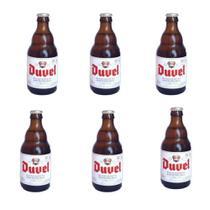 PACK 6 Cerveja Importada Belgian Golden Ale Duvel 330ML - Cervejaria Duvel Moortgat