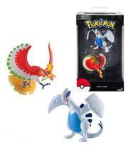 Pack Boneco Pokémon Lendário Ho-Oh e Lugia Tomy -