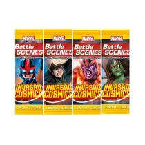 Pack de cartas Marvel Battle Scenes: Invasão Cósmica em português -
