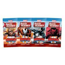 Pack de cartas Marvel Battle Scenes: Multiplas Identidades em português -