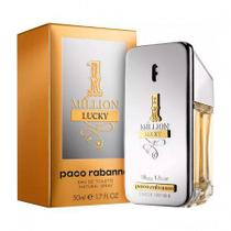 Paco Rabanne Perfume Masculino 1 Million Lucky Eau de Toilette 50ml