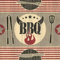 Pacote 20 Guardanapos BBQ - Paper design