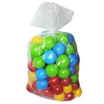 Pacote de bolinhas coloridas para diversão das crianças saco c/50 unidades - Valentina Brinquedos - Vakentina Brinquedos
