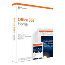PACOTE OFFICE FAMILY BRAZILIAN FPP - 6GQ-00952 6 users - Microsoft