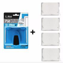 Pad P/ Recorte De Pintura E Acabamento + 4 Refils Ped Atlas -