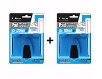 Pad P/ Recorte De Pintura E Acabamento Atlas - Kit C/ 2 Pads -
