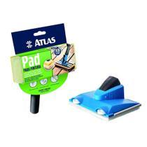 Pad P/ Recorte + Pad P/ Stain E Verniz De Pintura Acabamento - Atlas