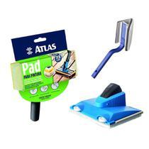 Pad Para Recorte + Pad Pintura Stain + Pad De Canto Atlas -