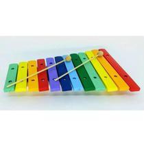 Paganini Xilofone Infantil 12 Notas Colorido 31x21 Cm Pxl812 -