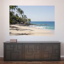 Painel Adesivo de Parede - Praia - Paisagem - 703pnm - Allodi