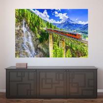 Painel Adesivo de Parede - Suíça - Paisagem - Mundo - 1258pnm - Allodi