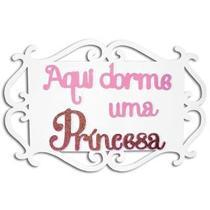 Painel aqui dorme uma princesa - Grintoy