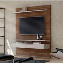 Painel Bancada Smart Para TVs até 60 Polegadas 2 Gavetas 2 Prateleiras Casa D Dakota/Gianduia -