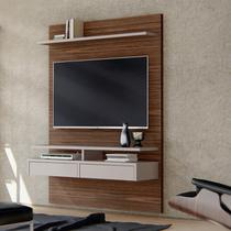 Painel Bancada Smart para TVs até 60 Polegadas 2 Gavetas 2 Prateleiras Casa D -