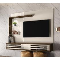 Painel Bancada Suspensa Para TV 50 Polegadas Frizz Select Off White Savana Madetec