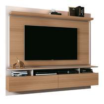 Painel Bancada Suspensa Para TV até 55 Pol. Limit 1.8 Freijó/Off White - HB Móveis -