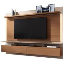 Painel Bancada Suspensa Para TV até 60 Pol. Limit Nature/Off White - HB Móveis -